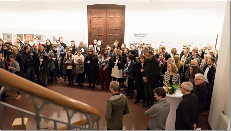 Foto 4 - Asistente al evento en la Universidad Bauhaus, en Weimar, Alemania